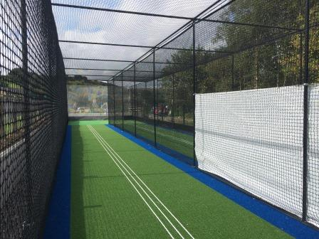 Oxenhope CC cricket practice nets by total-play