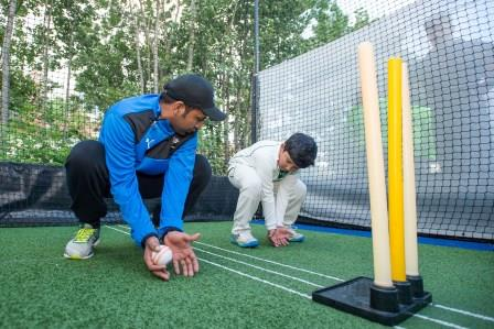 Pakistan Captain Sarfaraz Ahmed inspires the next generation at Bradford Park Avenue