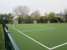 Multi Use Games Area by total-play at Chase Lane School