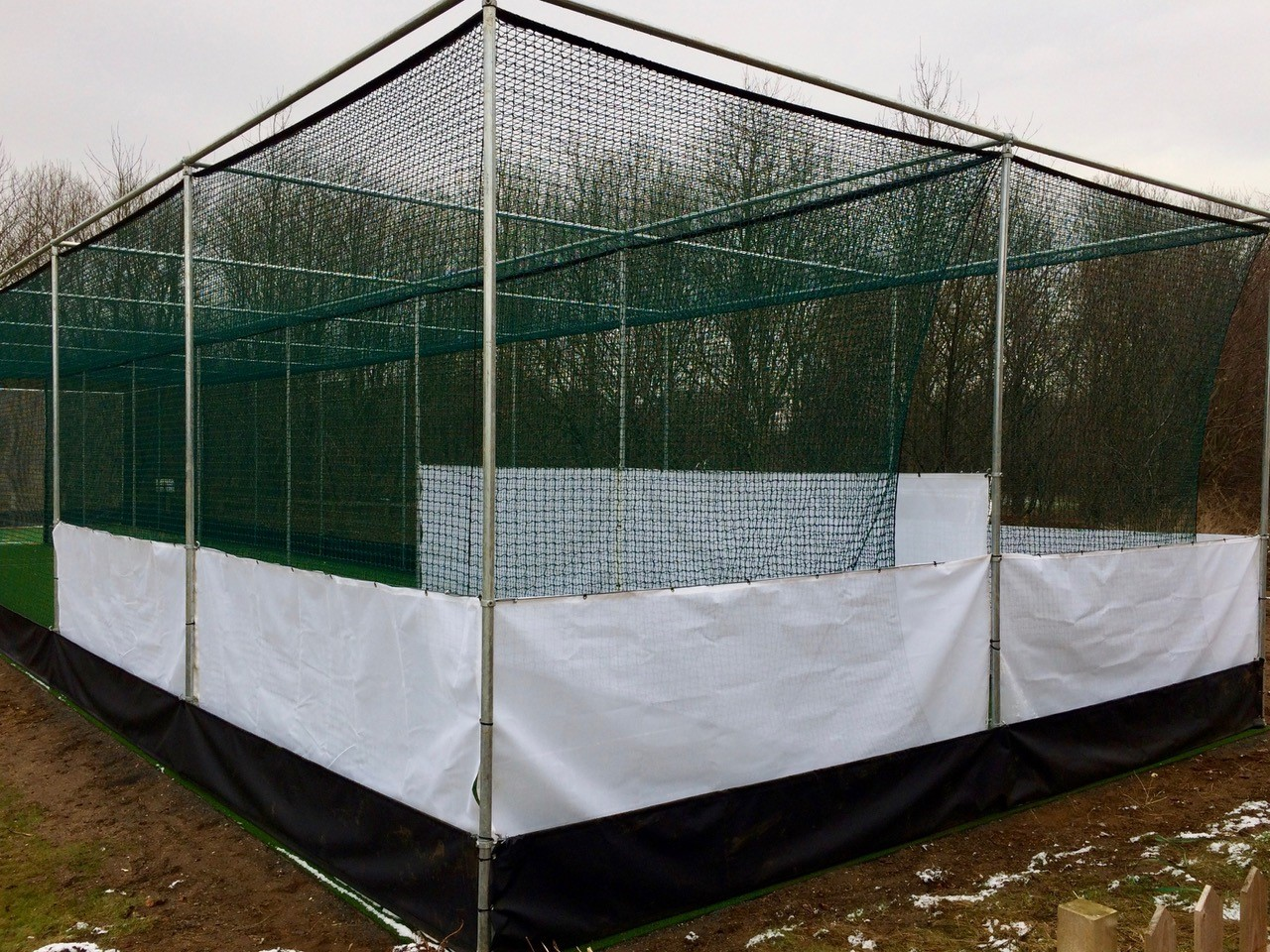 total-play synthetic cricket nets facilty at Normanby CC