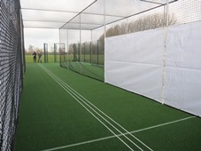 CB approved artificial cricket pitch at Bluntisham CC