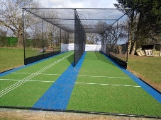 Isham Park non-turf cricket practice nets by total-play Ltd