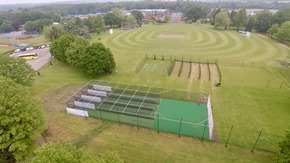 new non-turf cricket practice facility at the Haberdasher's Aske's Boy's School