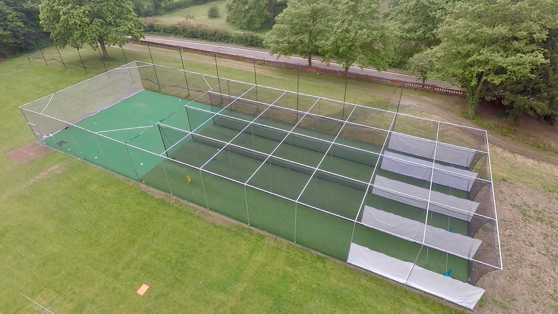 Non Turf Cricket Practice Facility Installation Total Play