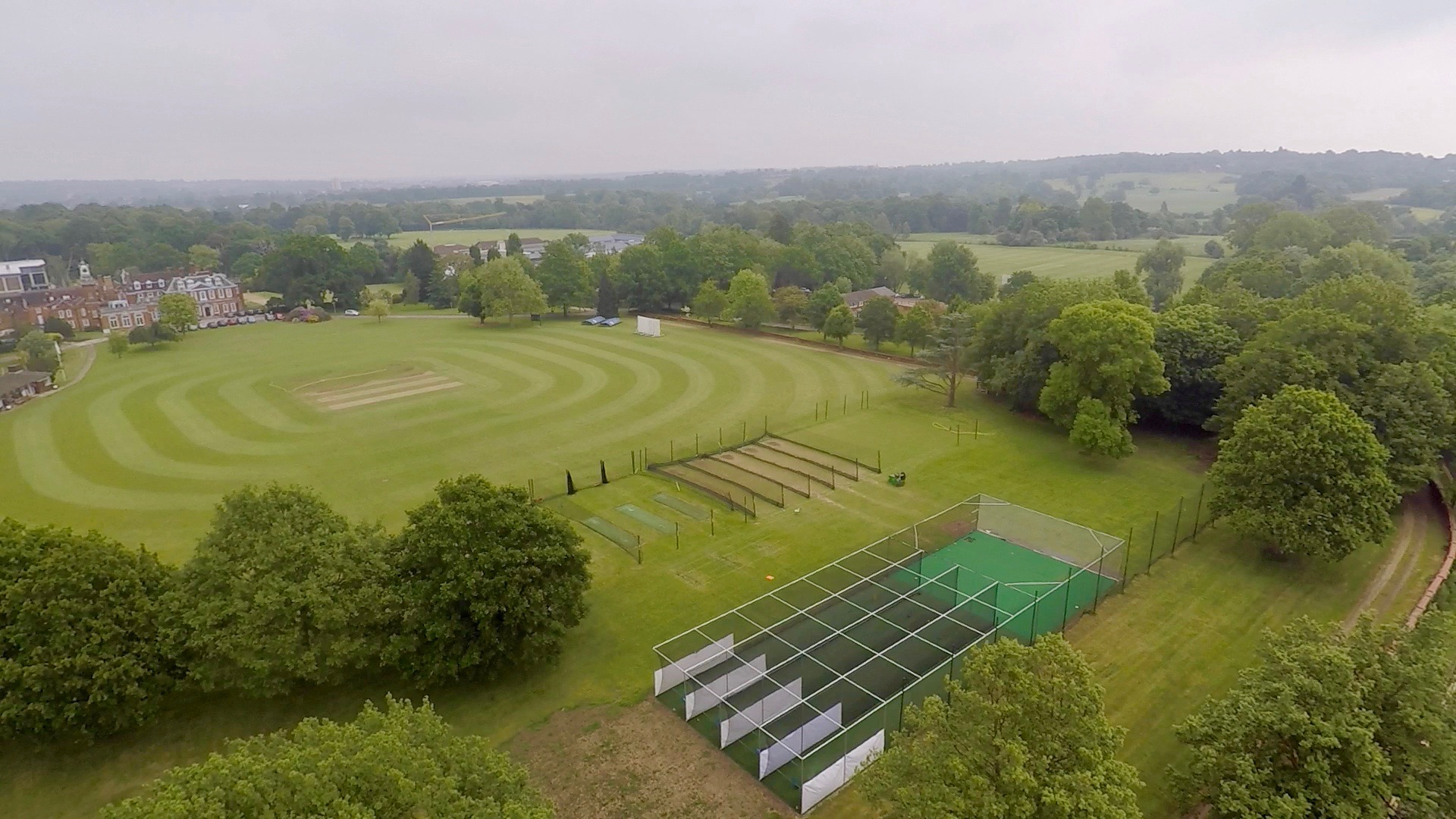 total-play installed a new non-turf cricket practice facility at The Haberdasher's Aske's Boys' School