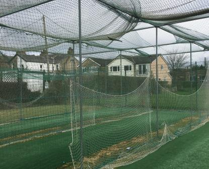 Burley CC old netting