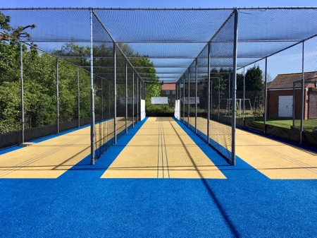 new cricket practice nets by total-play