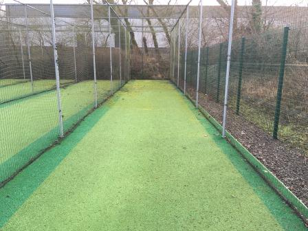 Lowerhouse CC practice nets facility before