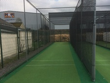 cricket practice nets at Lowerhouse CC