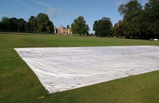 Climate Cover System in front of Knebworth House