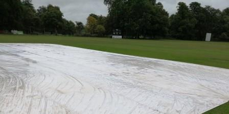 Knebworth CC Climate Cover System in action