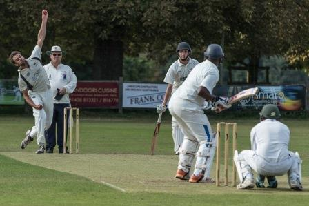 Knebworth CC in action