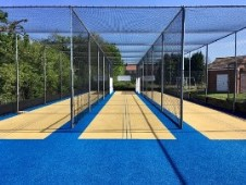 King's Heath CC's New cricket practice nets