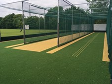 total-play artificial cricket pitch winton cc